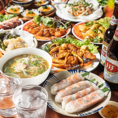 ベトナム料理 アオババ