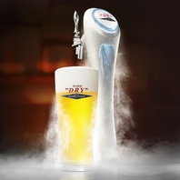 氷点下のビール「エクストラコールド」あります!