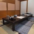 【桐】最大16名様までのお座敷個室★4×4のお席にもなります。隣の個室とつなげることも可能!人数に合わせて対応できます。