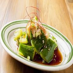 料理メニュー写真アジアンたたきキューリ
