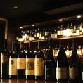 豊富に取り揃えたワイン。組み合わせ自由のハーフボトル2本セットが人気です。