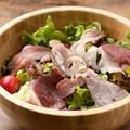 料理メニュー写真A5和牛コウネのサラダ