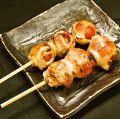 料理メニュー写真アスパラの肉巻き・トマトの肉巻き・豚のしそ巻き
