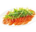 料理メニュー写真≪居酒屋和民のおすすめ≫スモークサーモンのカルパッチョ