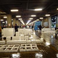 鮮魚市場の様子