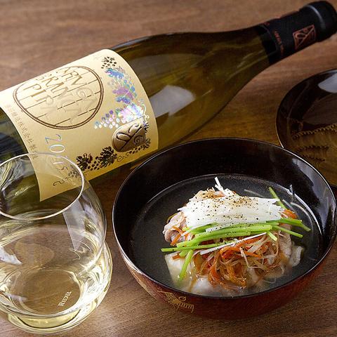 ◆ワインペアリング5〜6種類 6,000円