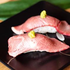 黒毛和牛の炙り握り寿司