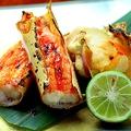 料理メニュー写真焼タラバガニ