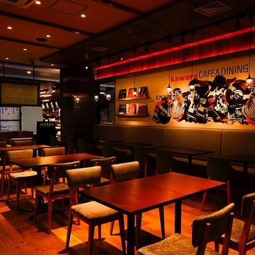 瓦 kawara CAFE&DINING KITTE博多店の雰囲気1
