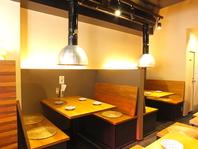 広々としたテーブル席☆