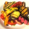 料理メニュー写真季節野菜のグリル