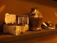 【器へのこだわり】「器」は、陶芸家「 桜一心」 の器を一部使用しております。