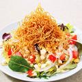 料理メニュー写真パリパリ胡麻サラダ