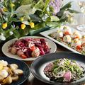 料理メニュー写真野菜を中心とした四季折々の創意工夫あふれる料理