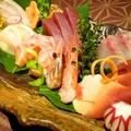 料理メニュー写真松・お造り7種盛り合わせ