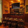 本場ドイツの雰囲気漂う店内。まるでドイツに来たかのような気分に・・・。快適な空間でこだわりの絶品お料理とお酒をお楽しみください!