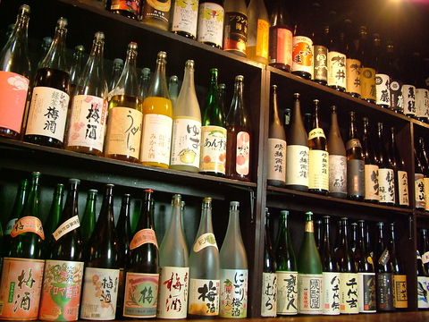 梅酒50種・焼酎160種等が3時間飲放。最大30名!週末もOKの3時間飲放コースは3980円~