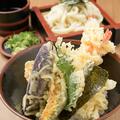 料理メニュー写真えび天丼定食