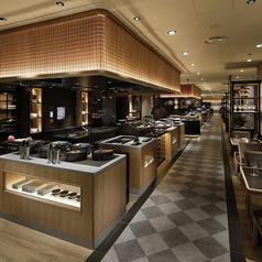 【キッチンエリア】ライブキッチンを備えたジャパニーズコンテンポラリーなデザインのインテリアが魅力☆