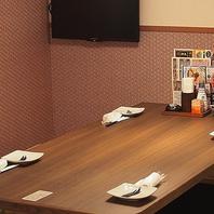 小人数でのお食事にも最適なお席のご用意ございます!