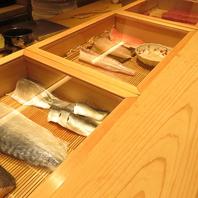 ■北陸の食材を使った創作鮨