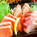 料理メニュー写真お刺身3種盛り合わせ(2~3人前)