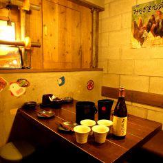 少人数の飲み会に最適なテーブル席もご用意いたしております。