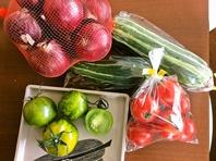 新鮮な野菜を使っています!