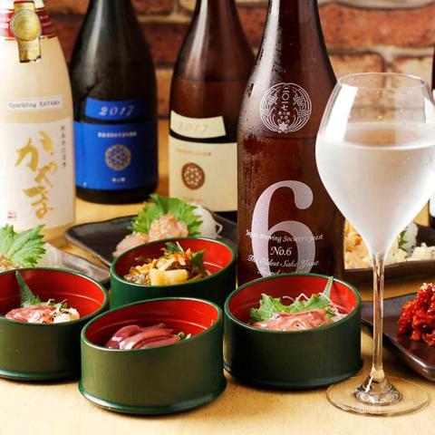 日本酒と和食を堪能できる駅チカのお店