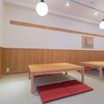 【3階】8名様までご利用いただけるこちらの空間は、奥まった空間ですので、大切なお客様をもてなすご宴会やご接待にもおすすめです。
