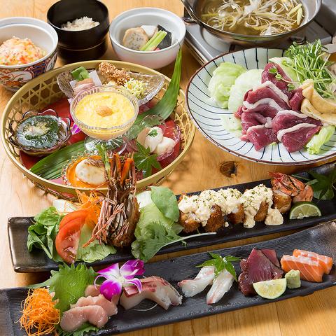 河内鴨料理のご宴会コース 7000円(税込)