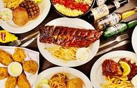 全米No1のアメリカンリブと料理の数々!
