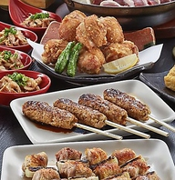 酉や喜兵衛の自慢の料理と旬の味覚を楽しむコース