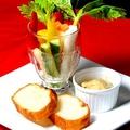 料理メニュー写真野菜スティック バーニャカウダソースで