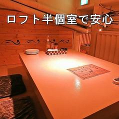 隠れ家バル ボノボ 東武宇都宮駅前店の雰囲気1