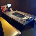6名様のテーブル席です。