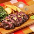 料理メニュー写真カナダ産牛サガリステーキ(100g)