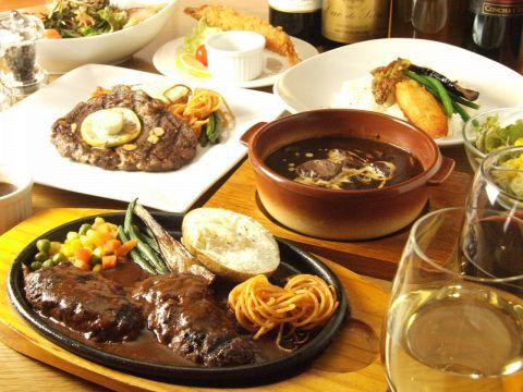 大岡山で本格的なハンバーグとステーキを味わえるお店です♪