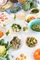 料理メニュー写真三次の元気野菜のサラダバー