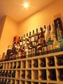 珍しい焼酎や果実酒など、豊富に取りそろえております。