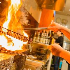 地鶏炭火焼 とりの籠の写真