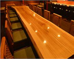 最大で16名様まで利用できる、大きなテーブル席があります!大人数での宴会や、合コン等にも利用可能です☆大人数のご予約も、どうぞお気軽にお問合せください♪