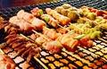 料理メニュー写真串焼の盛合せ(8本)