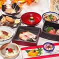 職人技が光る旬の和食を。旬の食材そのものの味と彩りを大切に調理しております。