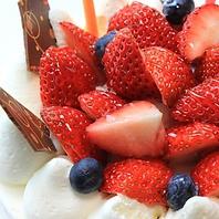 記念日に花束やケーキを☆