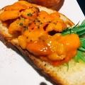 料理メニュー写真ウニ醤油バター