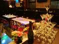 広々とした店内は結婚式二次会などの大型宴会にもピッタリ!