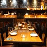 テーブルのセッティング次第では中人数宴会も可能です!