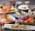 【月替わりコース】鯨刺し等、名物料理も多数盛り込み