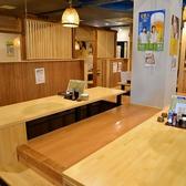 テーブル4名席×6